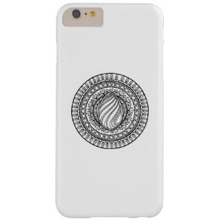 Circle Tribal Doodle Barely There iPhone 6 Plus Case