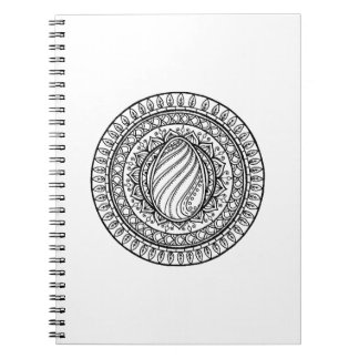 Circle Tribal Doodle Notebooks