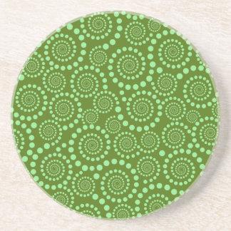 Circle Twirls custom coaster