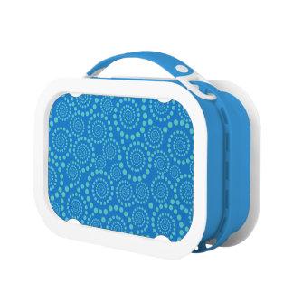 Circle Twirls custom lunch box