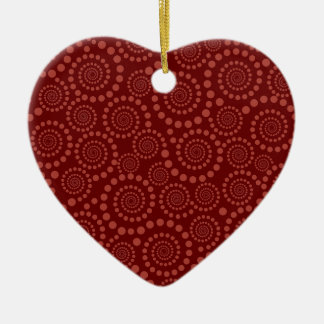 Circle Twirls custom ornament