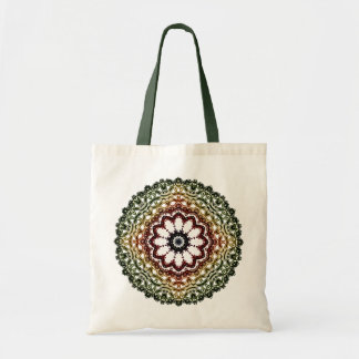Circle Vintage Ornament Mandala Art, Tote Bag