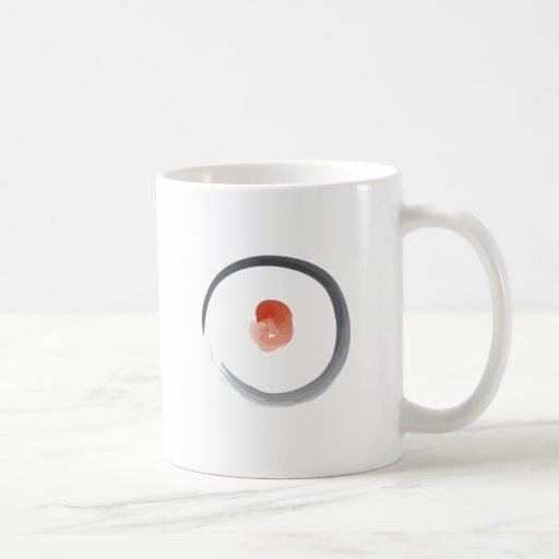 Circle Zen Sketch Painting Coffee Mugs