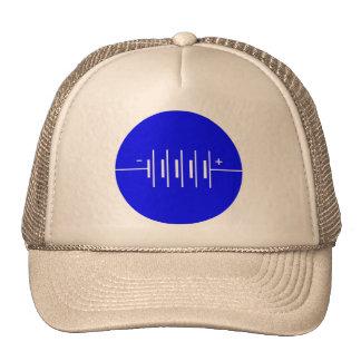 Circled Batteries Symbol Hats