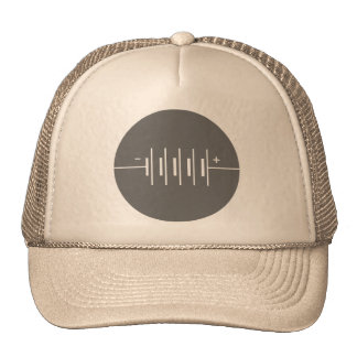 Circled Batteries Symbol Trucker Hat