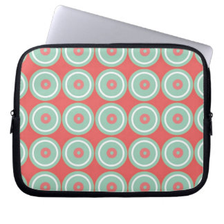 Circled Circles Computer Sleeve