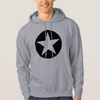 Circled Star - Black Hoodie