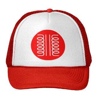 Circled Symbol - Transformer Mesh Hat