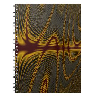 Circles #27 spiral notebook