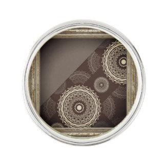 Circles Abstract Lapel Pin