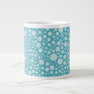 Circles and Dots 20 Oz Large Ceramic Coffee Mug