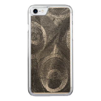 Circles and More Circles Carved iPhone 8/7 Case