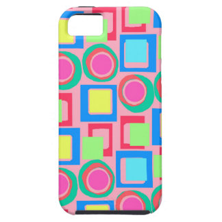 Circles and Squares iPhone 5 Cases