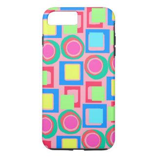Circles and Squares iPhone 8 Plus/7 Plus Case