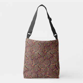 Circles and Swirls Crossbody Bag