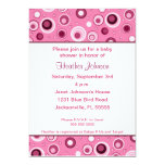 Circles Baby Shower - Pink
