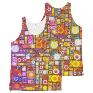 Circles City All-Over Print Tank Top