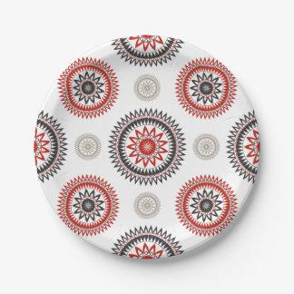 "CIRCLES Custom Paper Plates 7"""