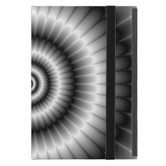 Circles in Black and White iPad Mini Case