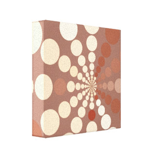 Circles in Space Gallery Wrapped Canvas