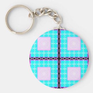 Circles in the tile keychain