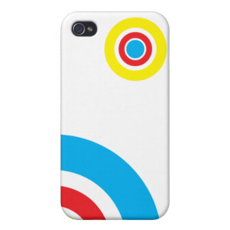 circles iPhone 4 cover