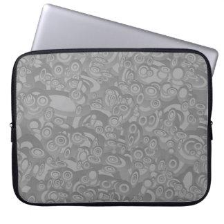 Circles Laptop Sleeves