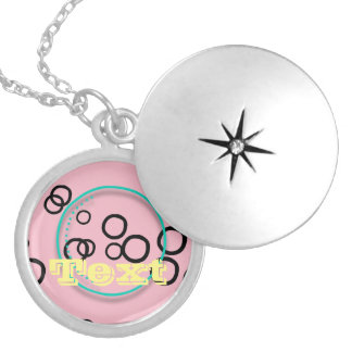 Circles Locket Necklace