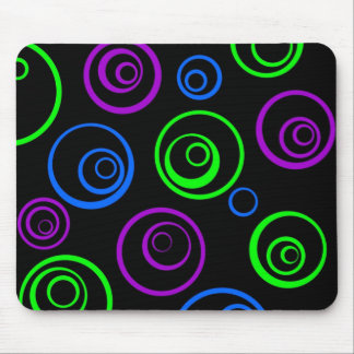 circles mouse mat