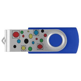 circles 'n squares USB by DAL USB Flash Drive