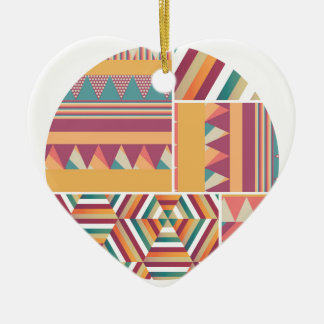 Circles of Color Christmas Ornament