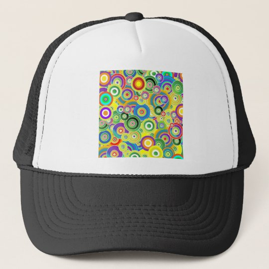 Circles of Colours Trucker Hat