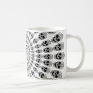 Circles of Skulls - Coffee Mug