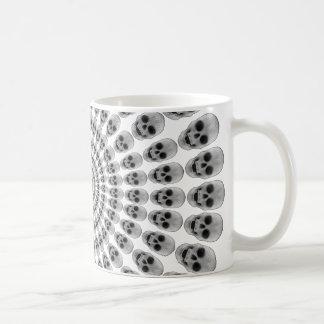 Circles of Skulls - Coffee Mug