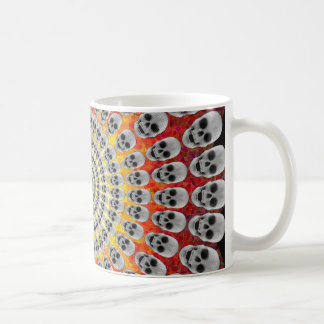Circles of Skulls & Fire Graphics: Coffee Mug