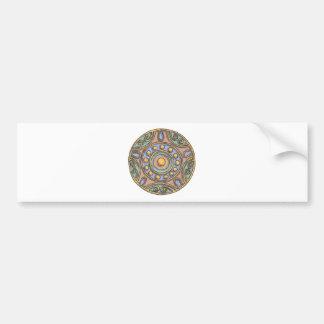 Circles (Pastel) Bumper Sticker