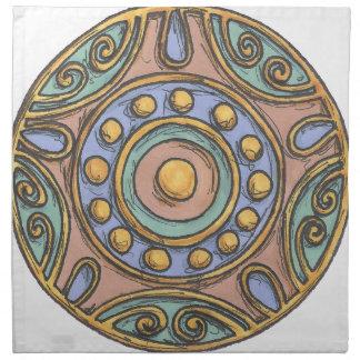 Circles (Pastel) Napkin