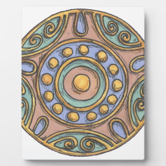 Circles (Pastel) Plaque