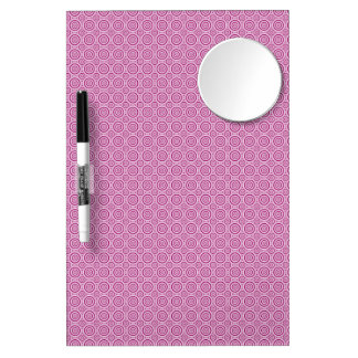 Circles Pattern custom message board Dry Erase Boards