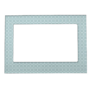 Circles Pattern custom picture frame