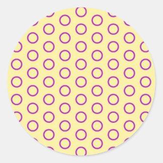 circles peas dab polka dots scores pünktchen round stickers