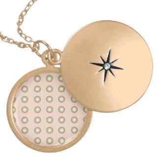 Circles pink necklace