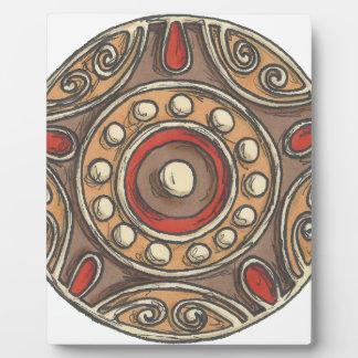 Circles Plaque