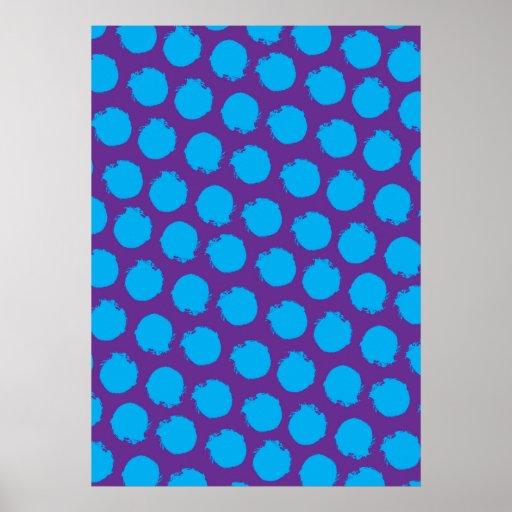 Circles pop colors 5 print