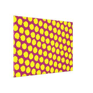 Circles pop colors canvas prints