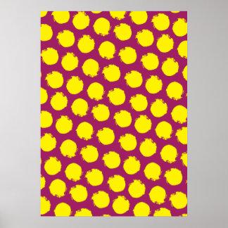 Circles pop colors print