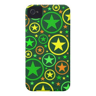 Circles & Stars iPhone 4 Case-Mate