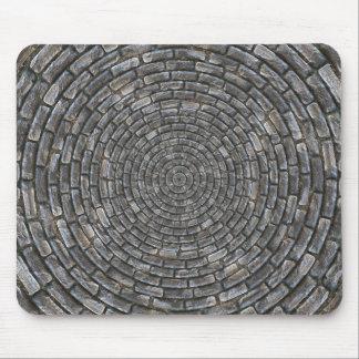 Circles stones mouse pad