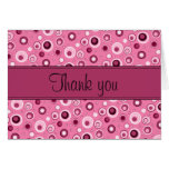 Circles Thank You - Pink
