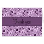 Circles Thank You - Purple